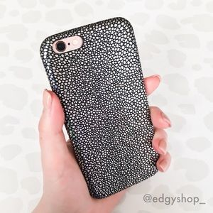 Textured Holographic iPhone Case